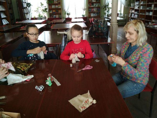 Изготовление куклы - саше