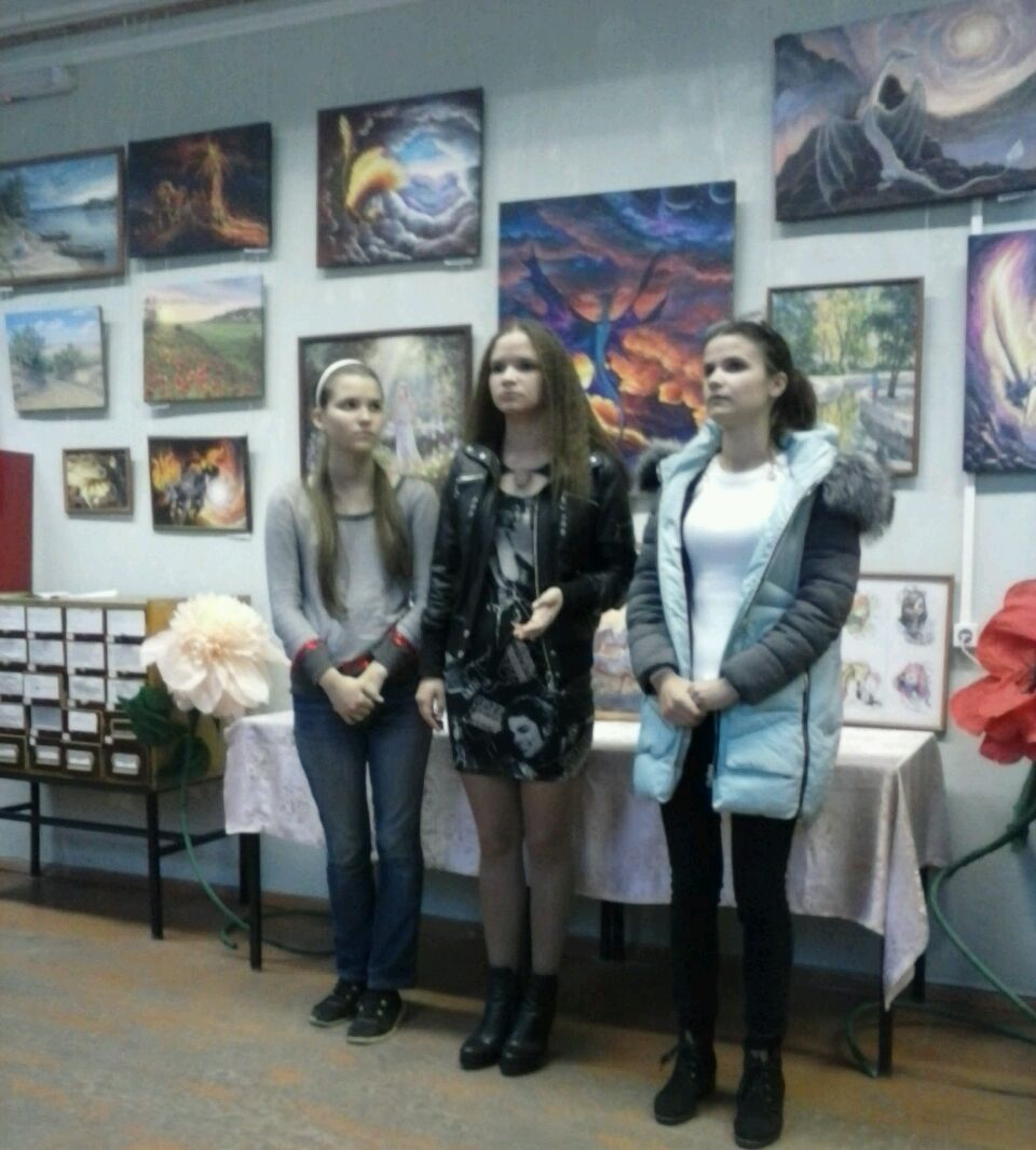 Выставка работ художников