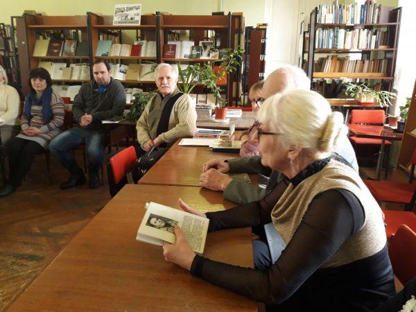 Первое заседание года в литературно - творческой студии Ступени