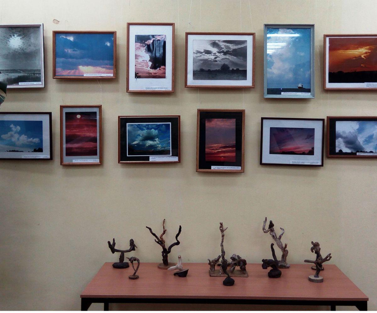 Персональная выставка Бессарабова Виктора Семеновича «ОБЛАКА»