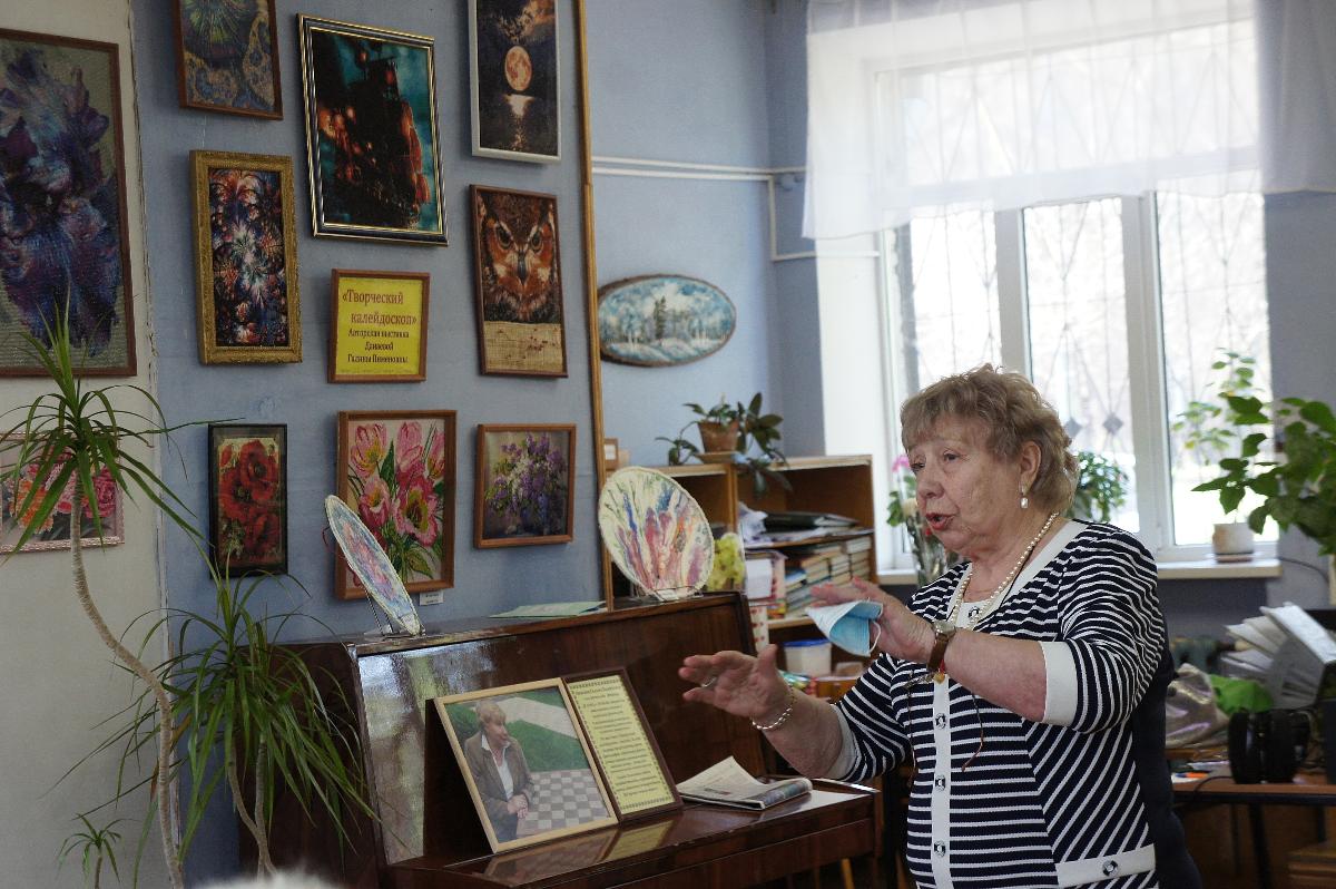 Открытие авторской выставки Данаевой Г. П. «Творческий калейдоскоп»