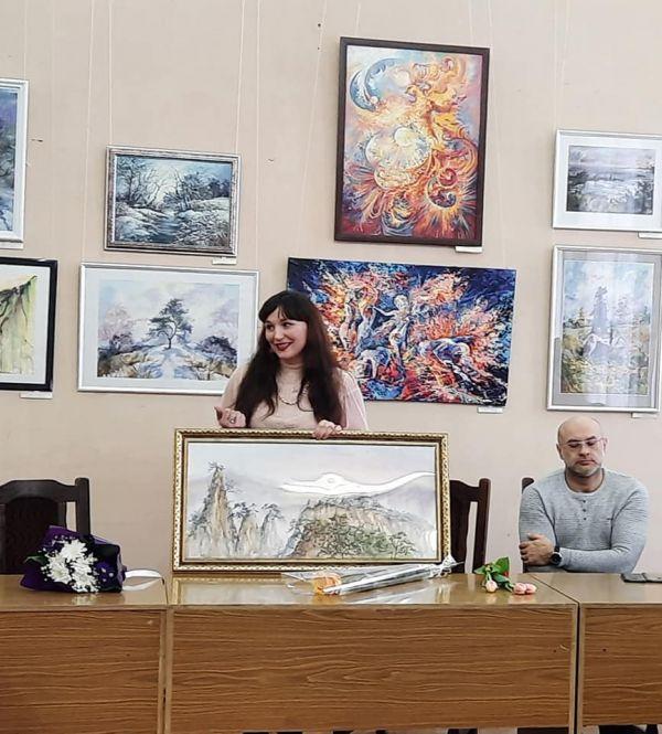 Персональная выставка работ художника Татьяны Капустяновой