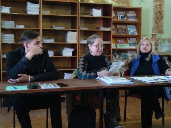 Встреча литераторов студии Ступени