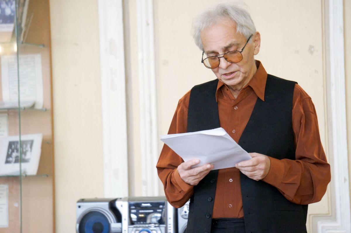Творческий вечер журналиста, поэта Юрия Витальевича Минкина