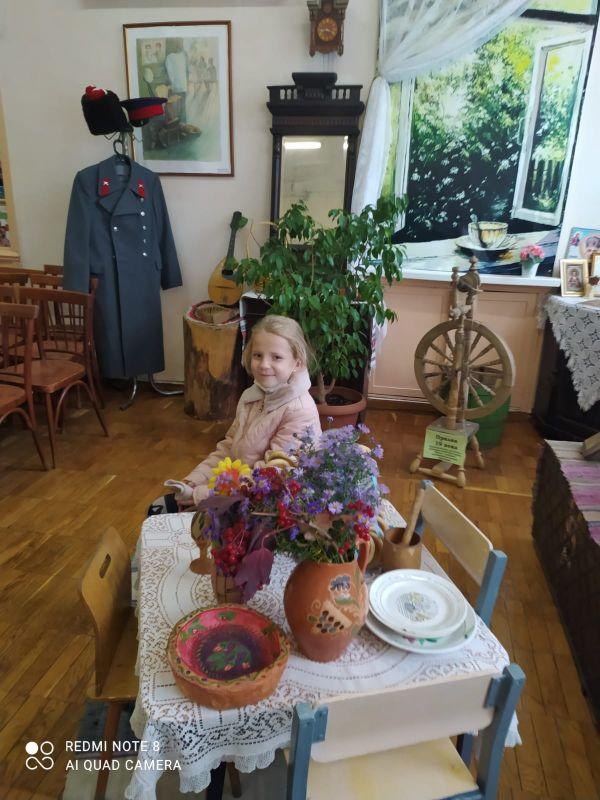 Праздничные посиделки в казачьем уголке «Под святым покровом»
