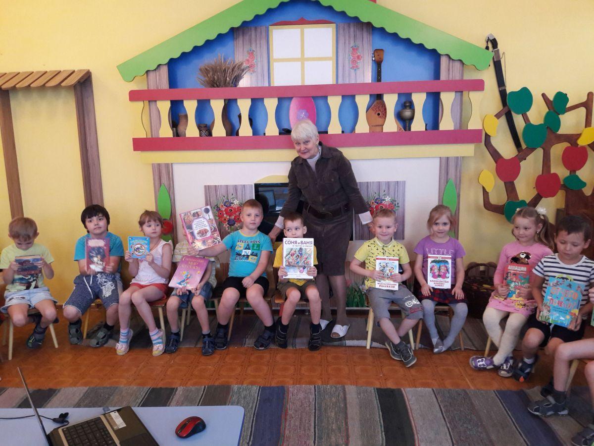 Библиотека в гостях у воспитанников детского сада № 23
