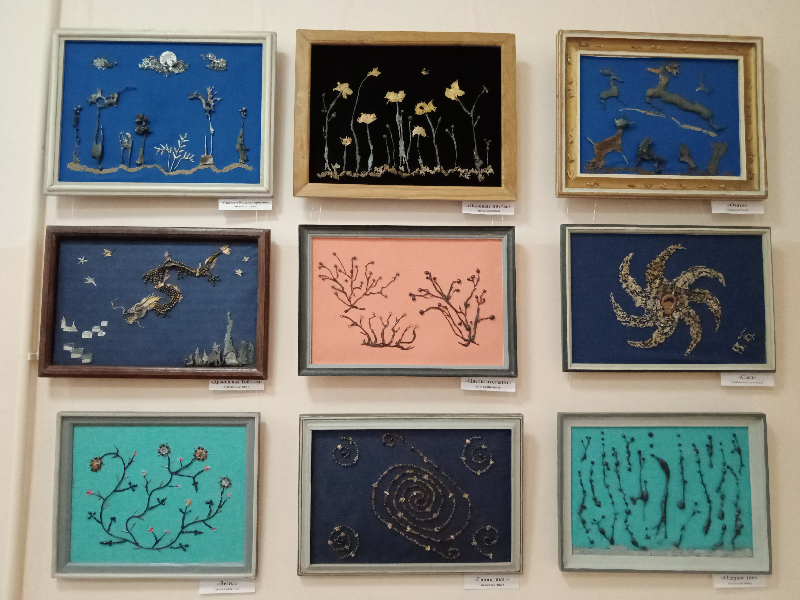 Выставка творческих работ Бессарабова Виктора Семеновича