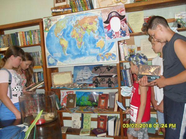 Конкурс в детской библиотеке