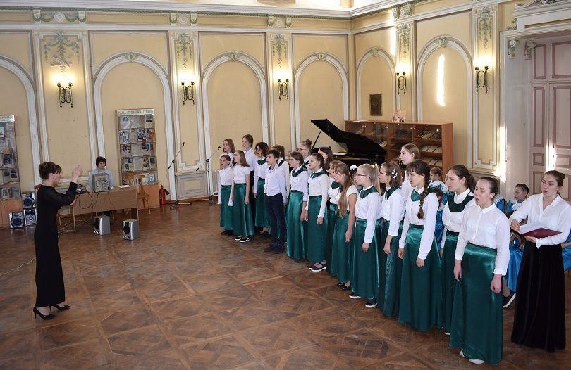 Концерт хоровых коллективов