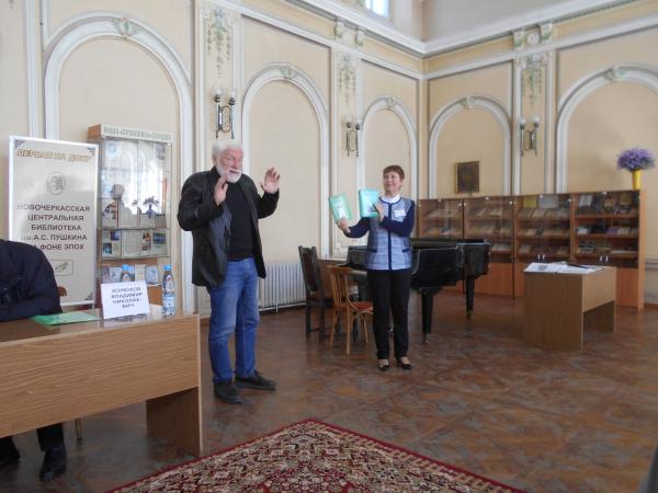 Отчет о презентации выставки «Страницы истории. Донские архитекторы Н. М. Соколов и С. И. Болдырев»