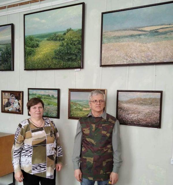 Персональная выставка художника Владимира Николаевича Донцова