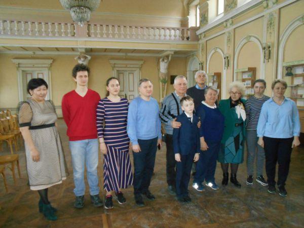 Потомки Евграфа Савельева в библиотеке Новочеркасска