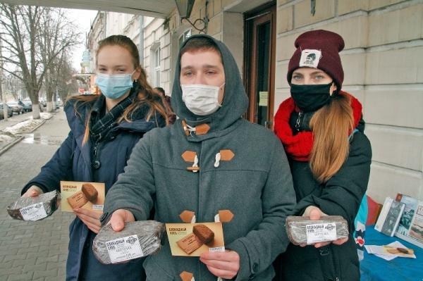 Акция «Блокадный хлеб» в библиотеках Новочеркасска