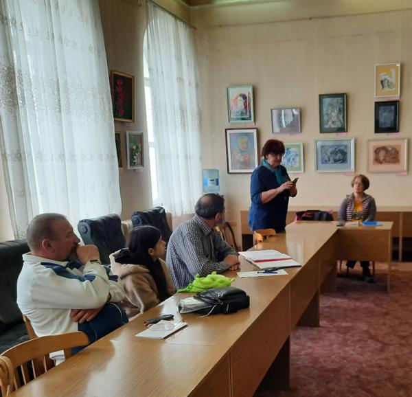 Отчёт о встрече литераторов Ступени